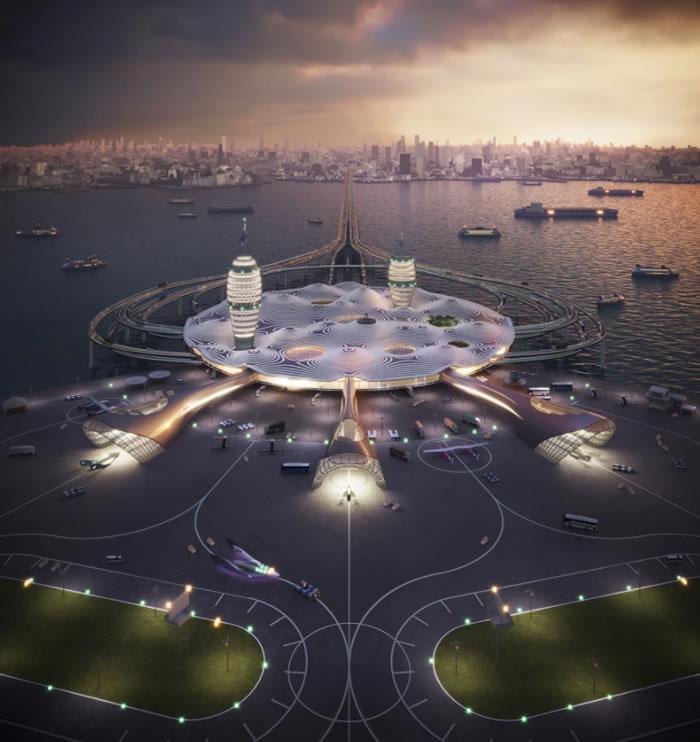 """大财团提议将日本打造成亚洲太空旅游中心 提出""""日本太空港""""Spaceport Japan概念"""