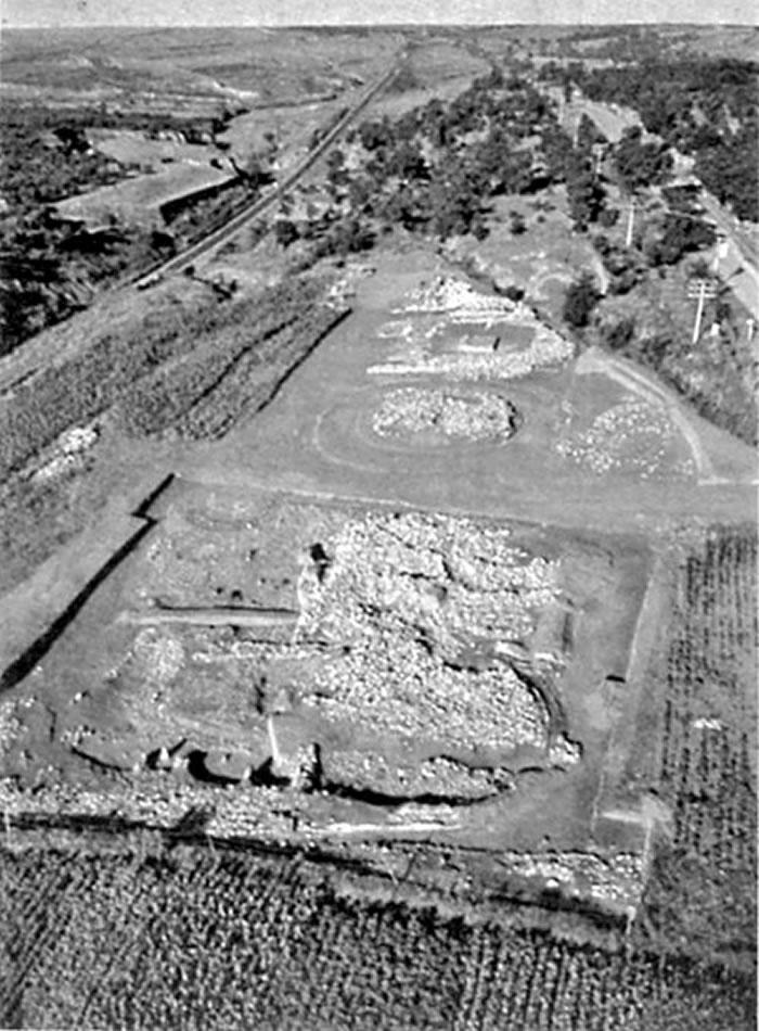 红山文化积石冢