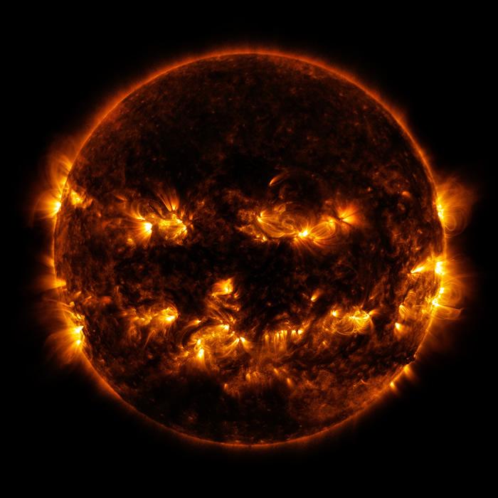 科学家记录到三年来最强的太阳活动爆发 11月上旬产生的耀斑比整个2020年都多