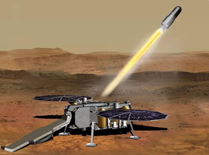 NASA已经准备好开始将火星样本送回地球