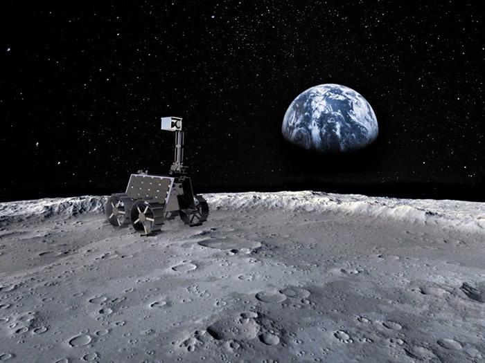 """阿拉伯联合酋长国计划发射一辆名为""""拉希德""""的小型月球车登上月球"""
