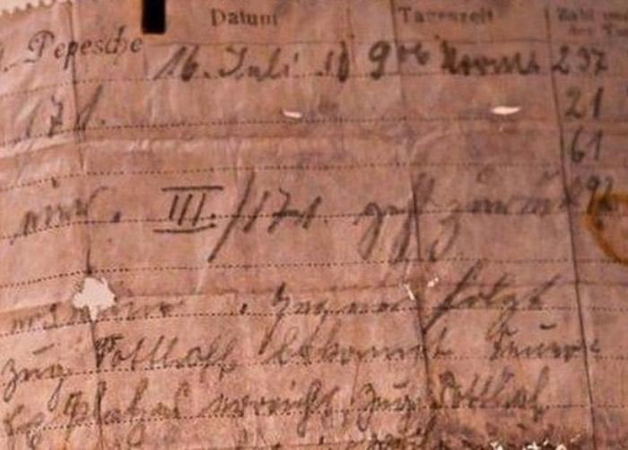 法国夫妇远足发现110年前小胶囊 由第一次世界大战期间德军信鸽传递