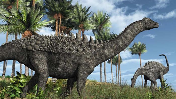 古生物学家在阿根廷西北部地区发现两种泰坦龙化石