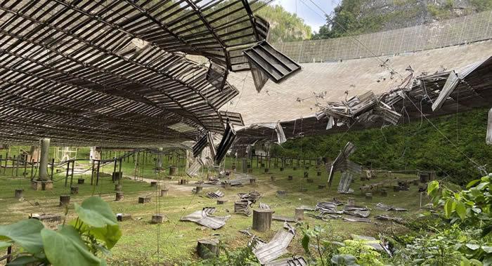 阿雷西博射电望远镜报废致美国地外生命探索能力下降 中国目前占优势