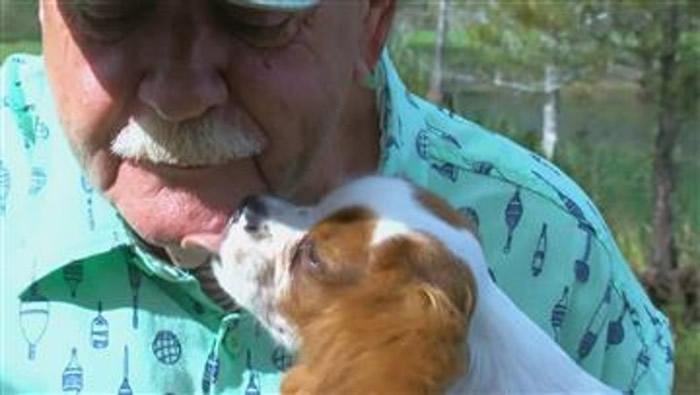 爱犬遭鳄鱼咬走 美国佛罗里达州男子徒手从鳄嘴救回