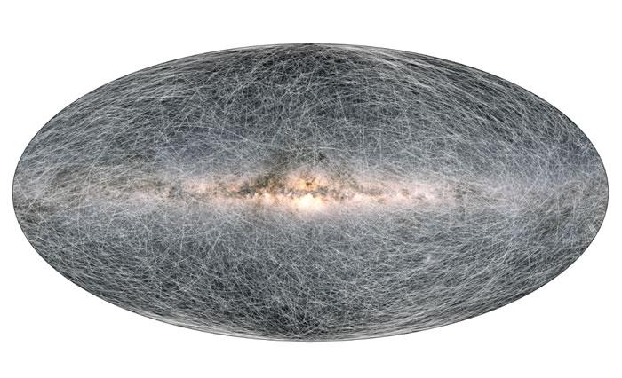 欧洲航天局盖亚空间望远镜公布迄今最详尽银河系地图 包含近20亿颗恒星高精度数据
