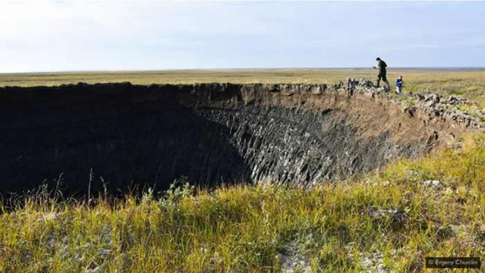 探索俄罗斯西伯利亚亚马尔半岛的巨洞之谜