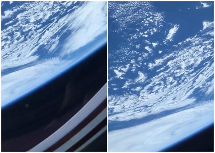 美国首位驻国际太空站非裔太空人发布太空影片 展示在龙飞船拍摄的地球绝美画面