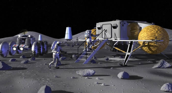 俄罗斯科学院院士列夫·泽列内认为月球上适合建立基地的地方不多 竞争会很激烈