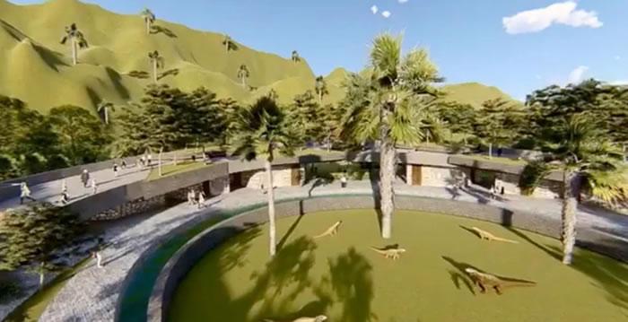 印尼林卡岛打造真实版《侏罗纪公园》 工作人员被重达90公斤科摩多巨蜥攻击
