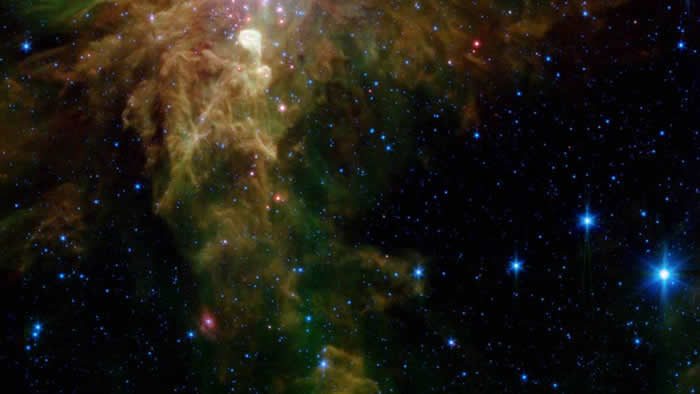 "NASA""每日图片""展示""圣诞树星团(Christmas Tree Cluster)"""