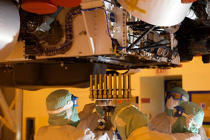 美国宇航局(NASA)毅力号火星车携带着最终将返回地球的样品采集管