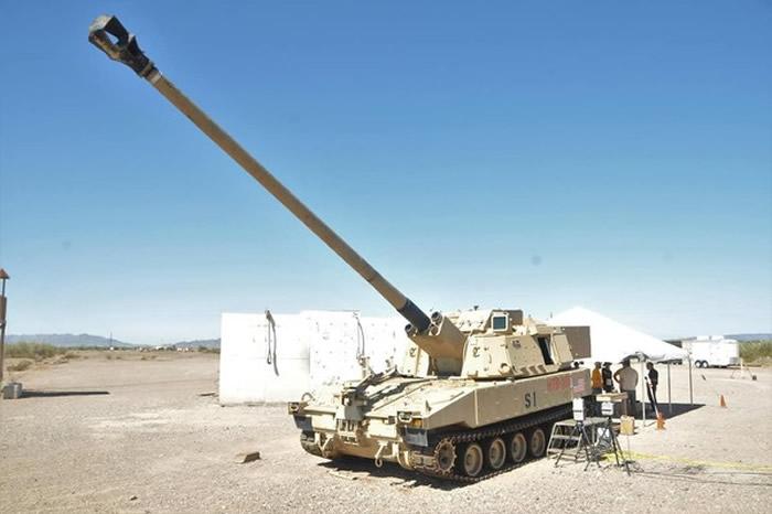 美国陆军完成新一代长程自行火炮M1299的研发 成功击中70公里外目标