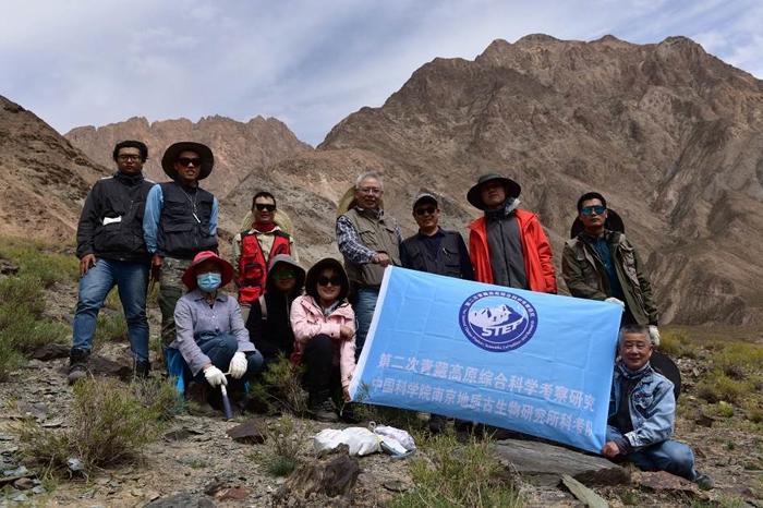中国科学院南京地质古生物研究所寒武纪大爆发研究团队开展青藏高原科学考察