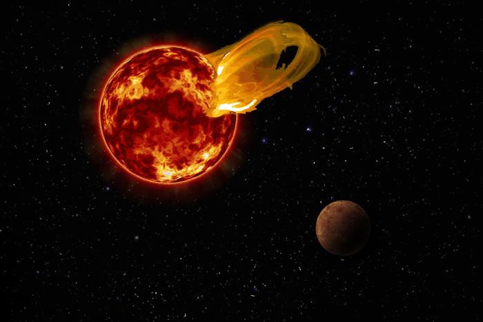 新研究提出了反对比邻星系统存在生命的理由
