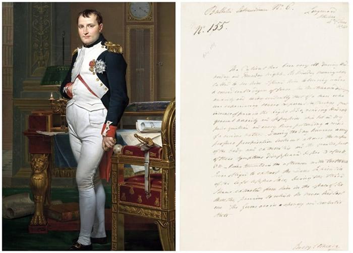 外科医生撰写的罕见病历揭露拿破仑这位骁勇善战的君主晚年遭受疾病和疼痛困扰