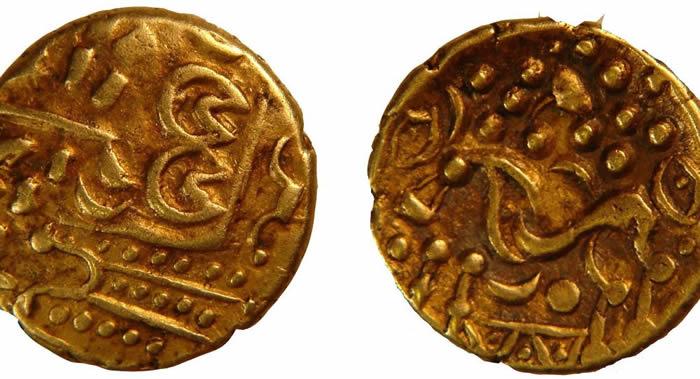 鸟类爱好者发现英国最大的凯尔特人金币宝藏