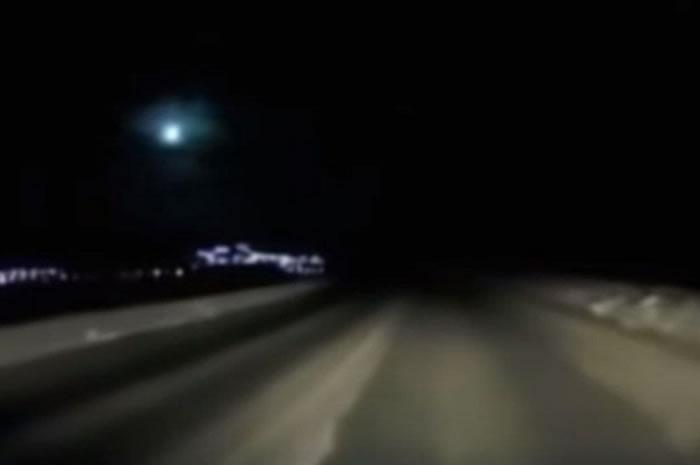 俄罗斯勘察加半岛上空发生陨石爆炸事件 属于不常落向地球的大型火流星