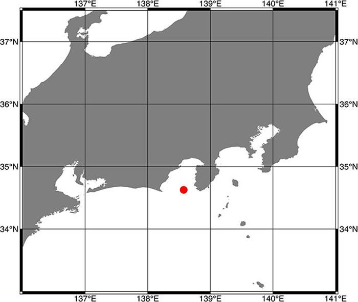 日本JAMSTEC在骏河湾海域发现一种从没见过的巨型深海鱼Narcetes shonanmaruae