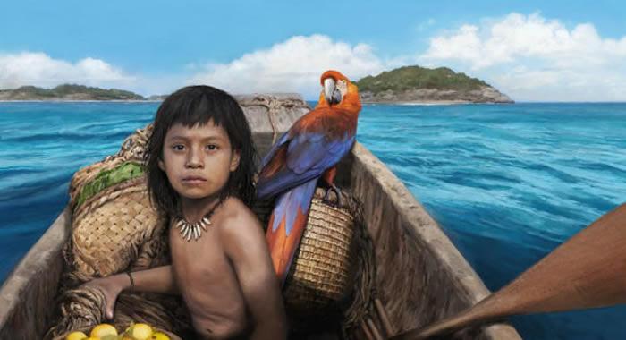 与外界接触前的加勒比地区遗传史