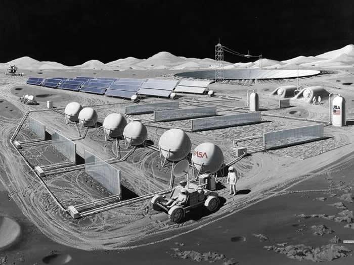 从月球到火星 美国人探索宇宙的脚步从未停下
