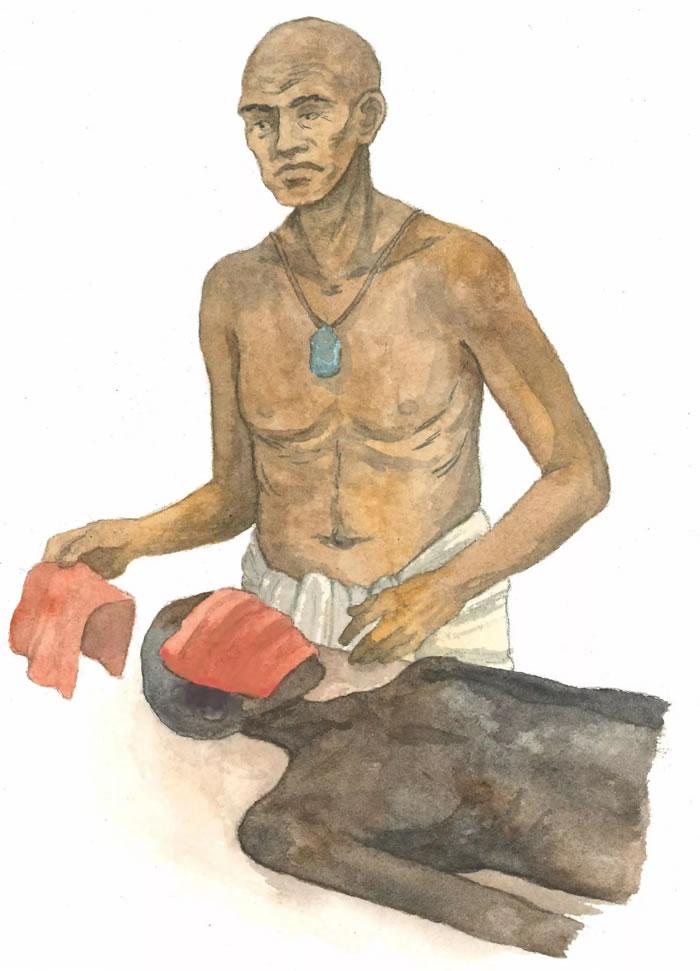 科学家发现一份古埃及用于对死者面部进行防腐处理的说明书