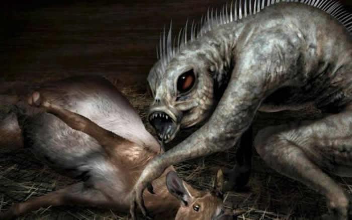"""传说中的神秘吸血怪物""""卓柏卡布拉""""现踪?墨西哥牧场接连发生诡异动物袭击事件"""