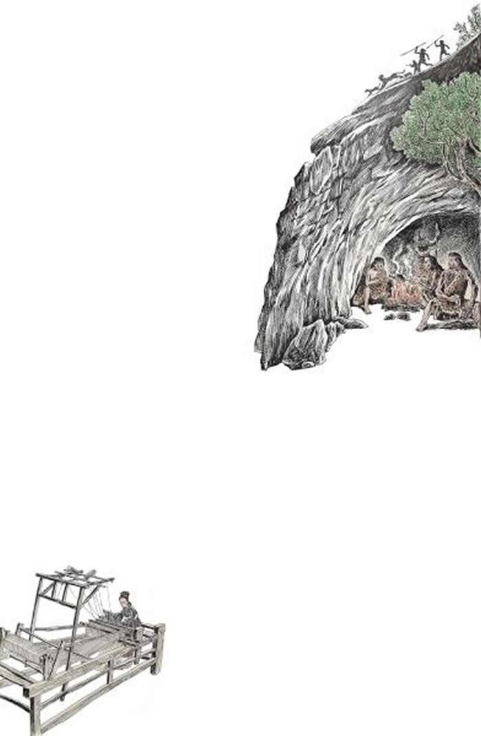 在织机洞,探寻古人类遗迹