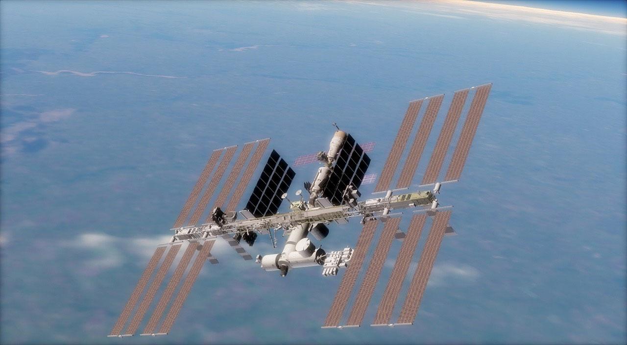 今晚如果天气允许 后院的天文学家们有机会看到国际空间站飞过天空