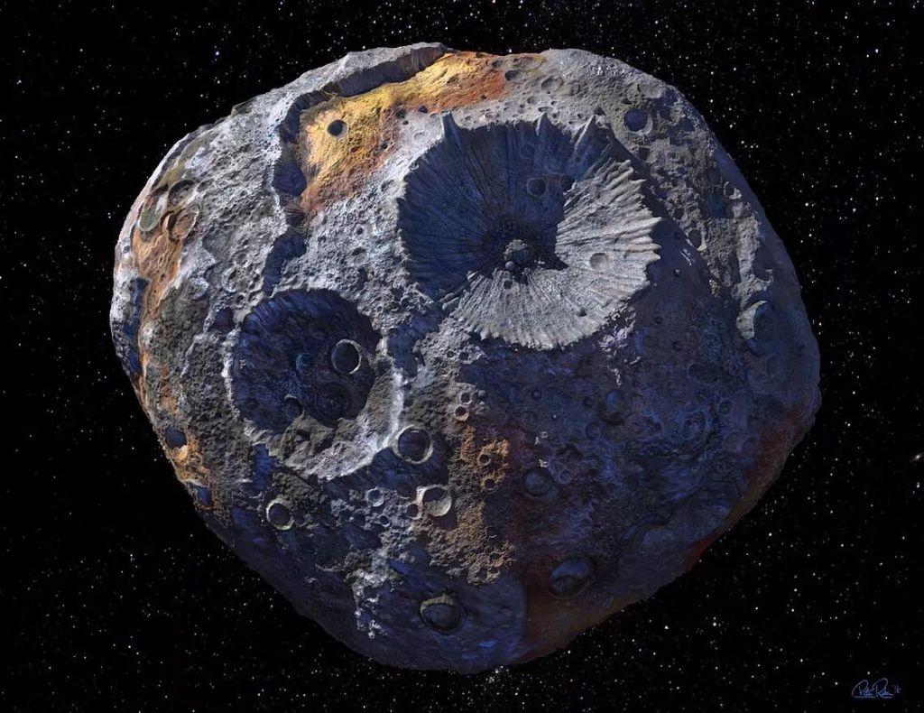 """估值1万万亿美元的小行星""""灵神星""""16 Psyche可能只是一个太空瓦砾堆"""