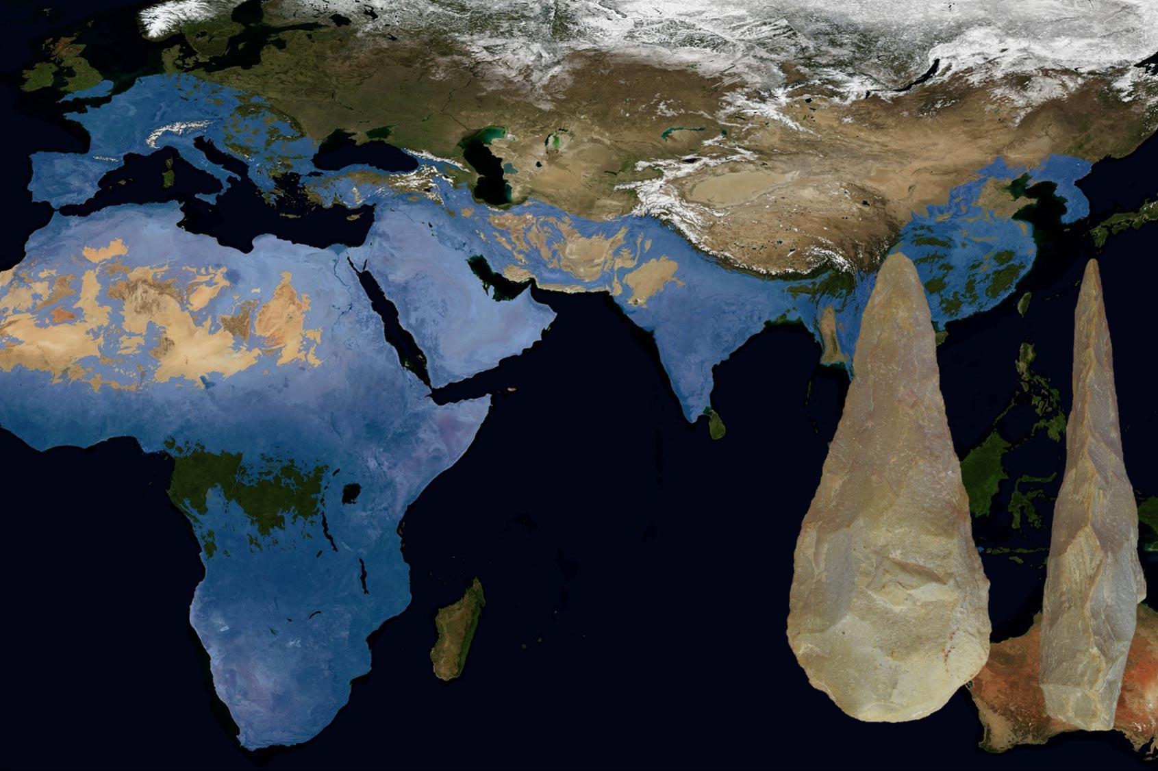 尼安德特人和早期现代人的文化与古老传统共存超过10万年