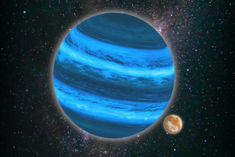 不绕任何恒星公转的行星的卫星可以拥有大气层并保留液态水