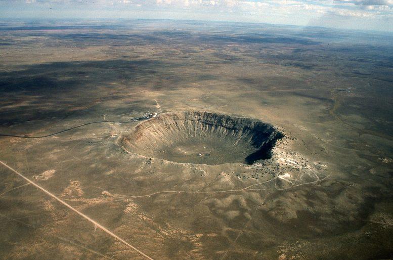 地球早期被巨大小行星撞击的次数可能比以前认为的要多10倍