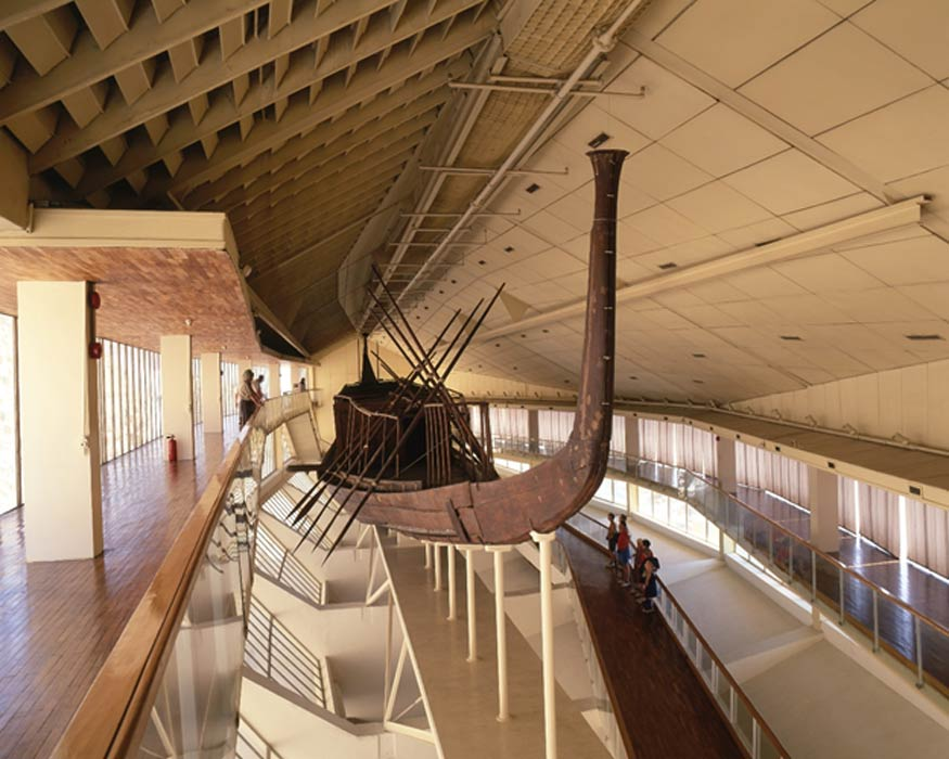 """埃及第二艘胡夫""""太阳船""""的主要发掘阶段已经结束"""