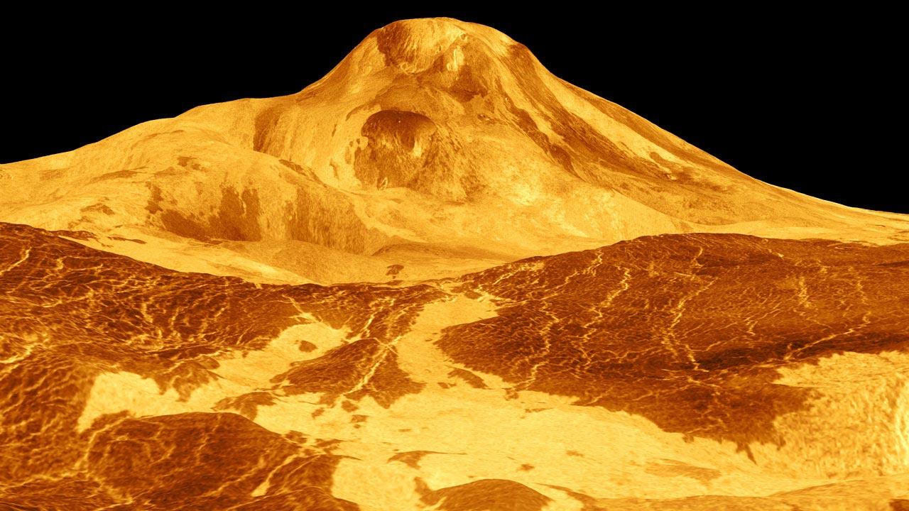 康奈尔大学最新研究:气体磷化氢的痕迹表明金星上有火山活动