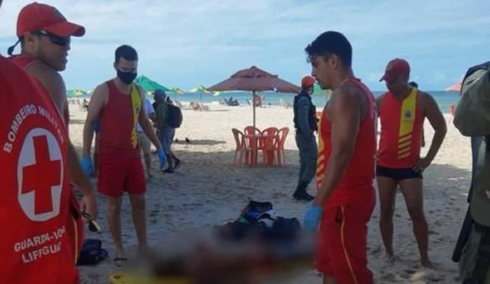 巴西男子酒后到海中小便 被鲨鱼咬死