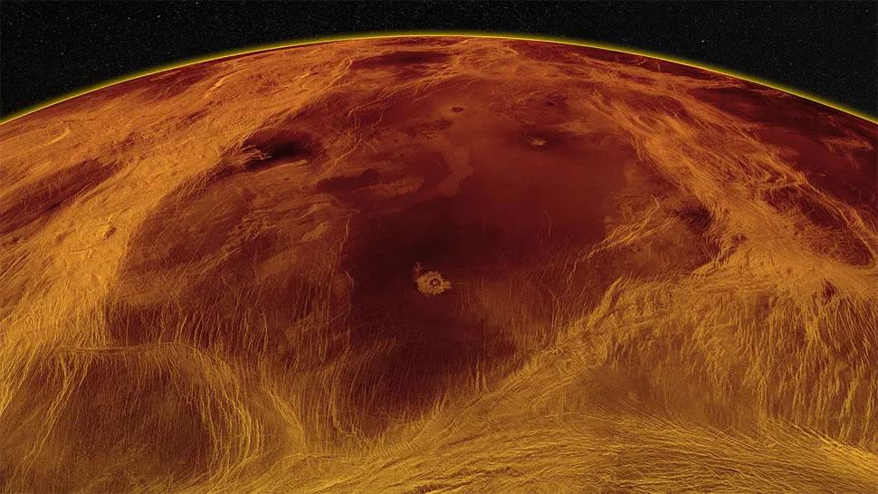 """日本金星气候轨道飞行器""""晓""""号首次揭示金星夜间的天气状况 发现奇怪的风环流模式"""
