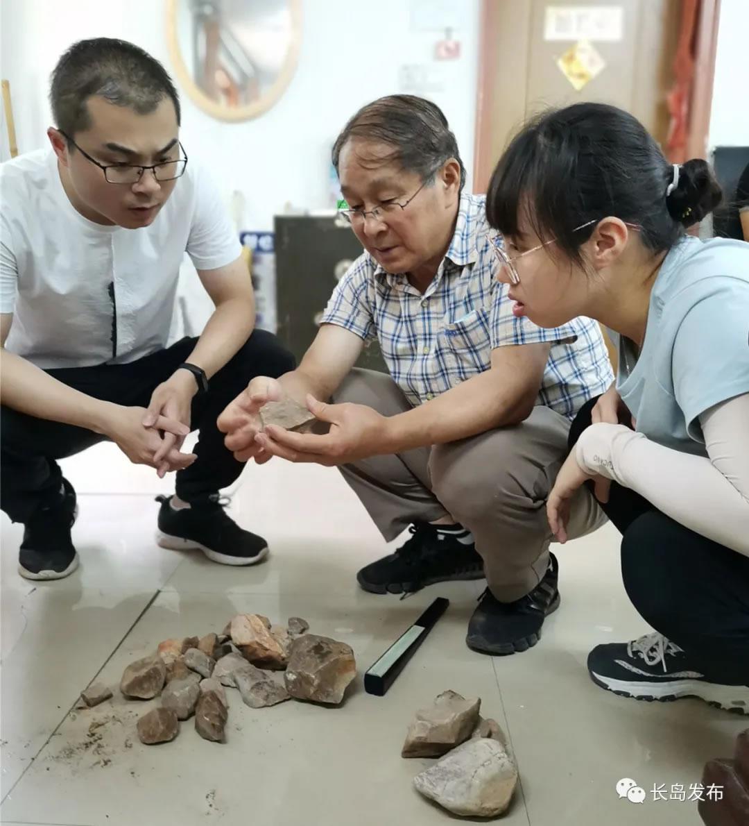 长岛发现大型旧石器时代石器制造场
