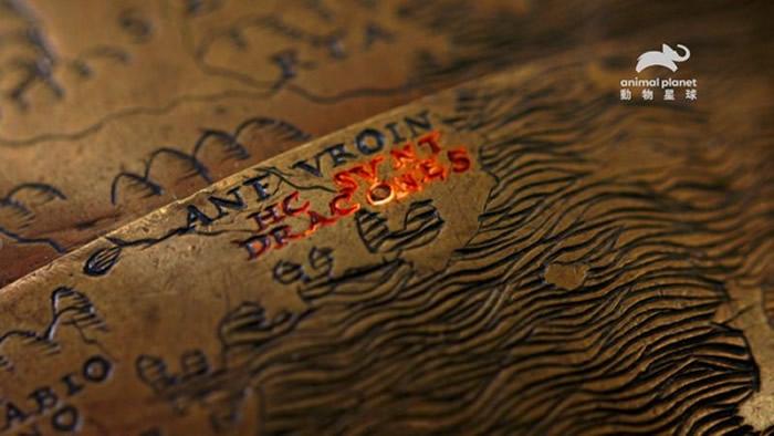 收藏于纽约公共图书馆的亨特莱诺克斯地球仪铭刻着重要的讯息:此处有龙。