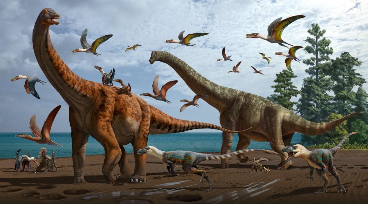 新疆早白垩世翼龙动物群发现大型恐龙化石 命