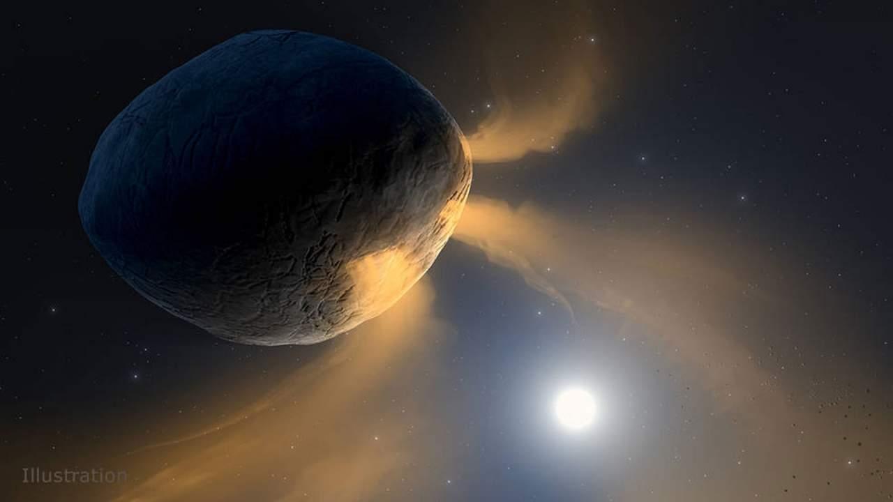 美国宇航局科学家研究小行星Phaethon正在表现出类似彗星的活动