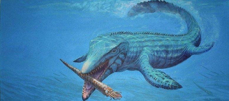 美国堪萨斯州西部发现沧龙新物种:生活在8000万年前的食鱼怪物