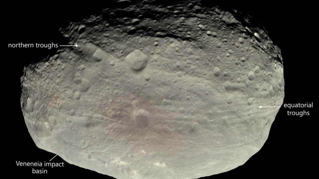 有关灶神星槽状地貌的新理论被提出