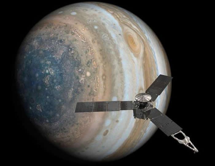 宇宙飞船能穿越像木星这样的气态巨行星吗?