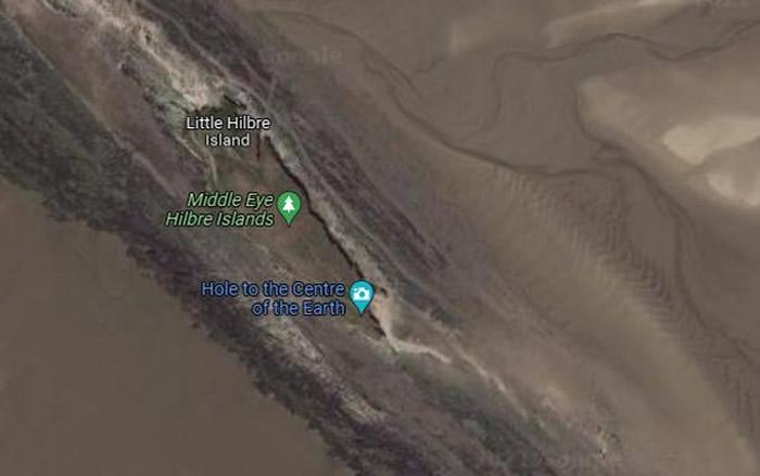 """英国12岁女孩用Google地图时意外发现""""通往地心的洞"""""""