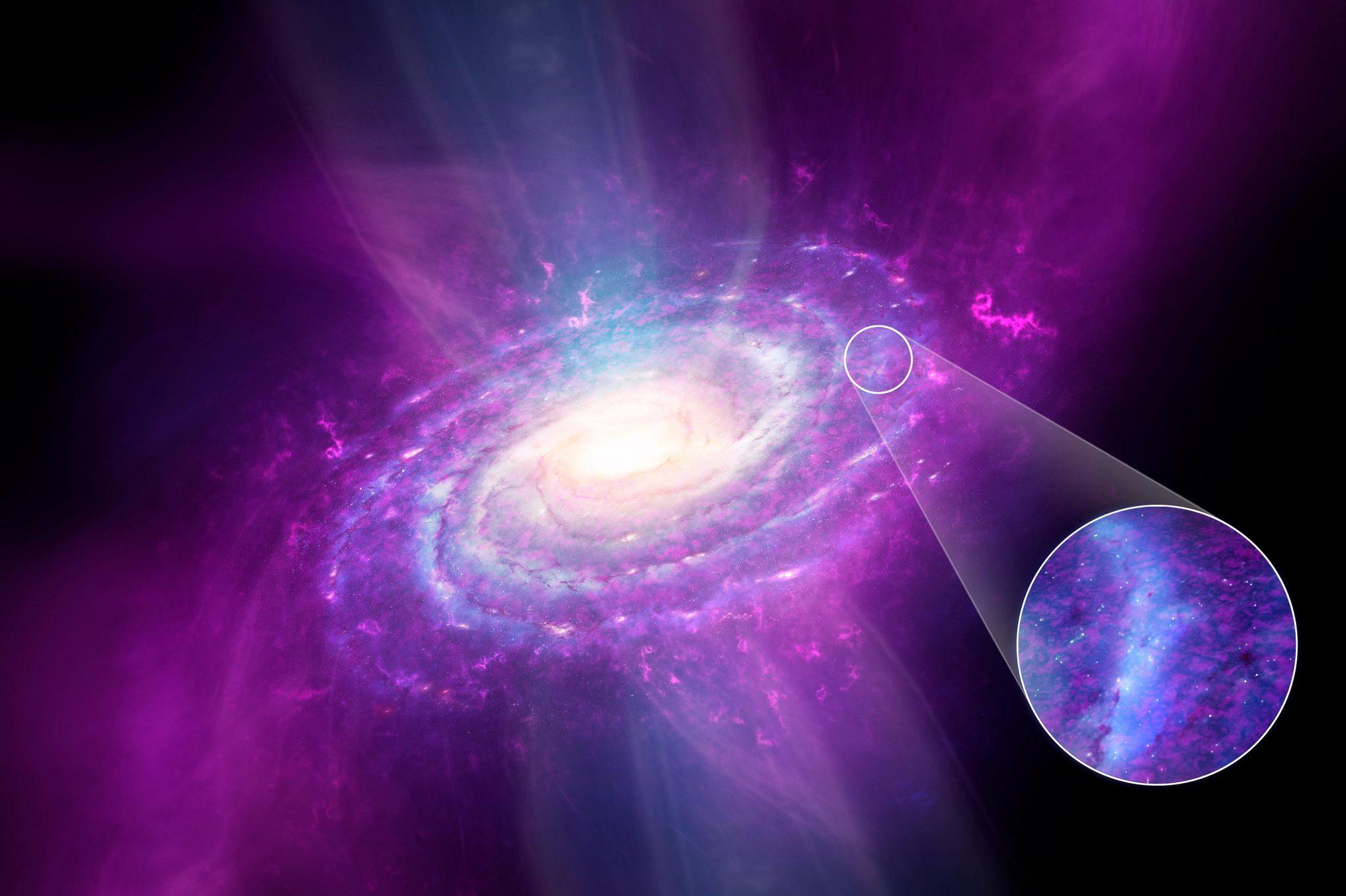 天文学家研究构成银河系的气体和金属组成
