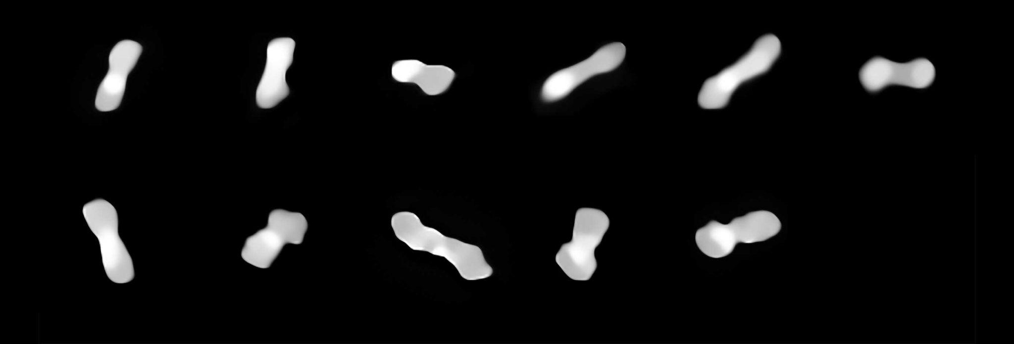 欧洲南方天文台甚大望远镜获得迄今为止小行星Kleopatra最清晰图像