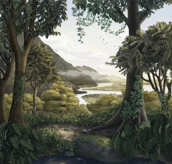"""在青藏高原上寻找4700万年前的""""远古香格里拉"""""""