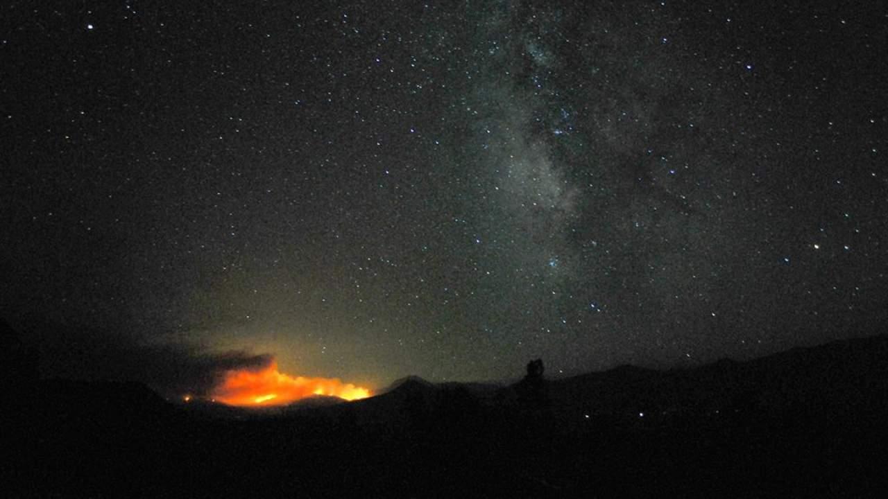 SETI用于搜索地外生命的艾伦射电望远镜阵列再次受到野火的威胁