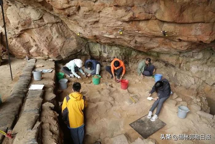 金斯太洞穴遗址2021年度考古发掘取得重要进展